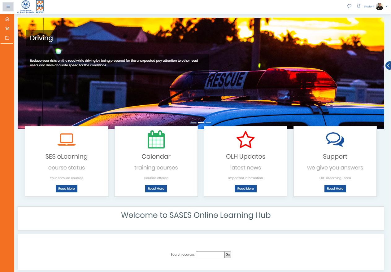 OLH homepage image